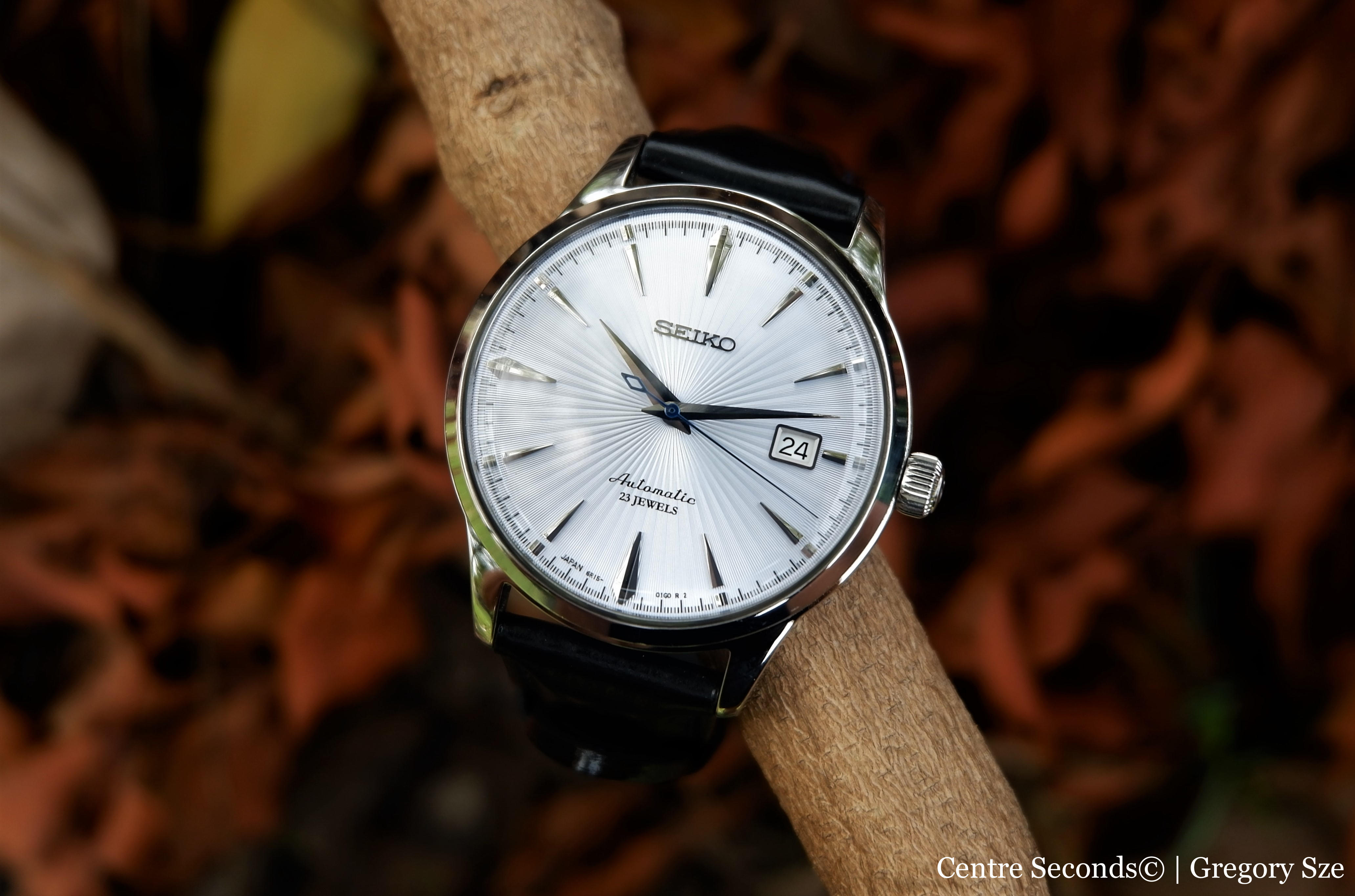the latest 13d12 f9393 REVIEW: Seiko SARB065 Cocktail Time – Centre Seconds